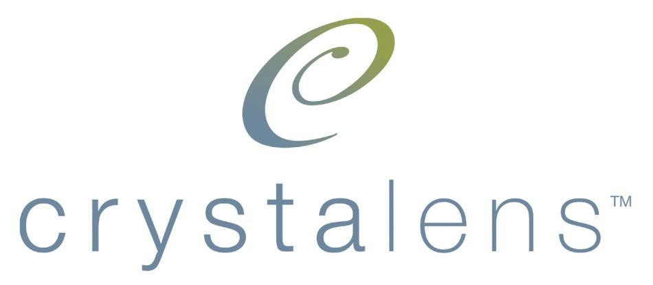 Crystalens IOL logo